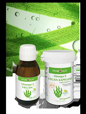 kapsułki NORSAN omega-3 wegańskie